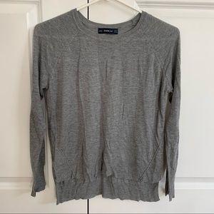 Zara Knit grey sweater